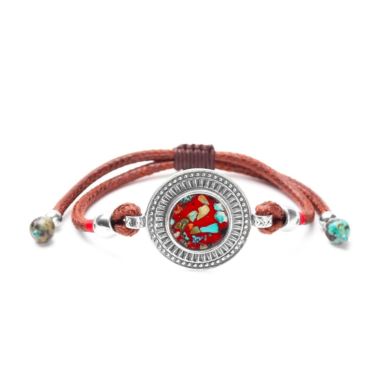 KATMANDOU gros bracelet macramé