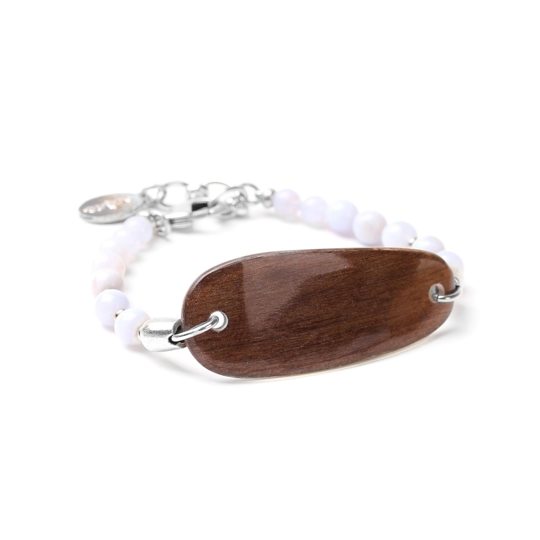 CLOUDY bracelet long élément central