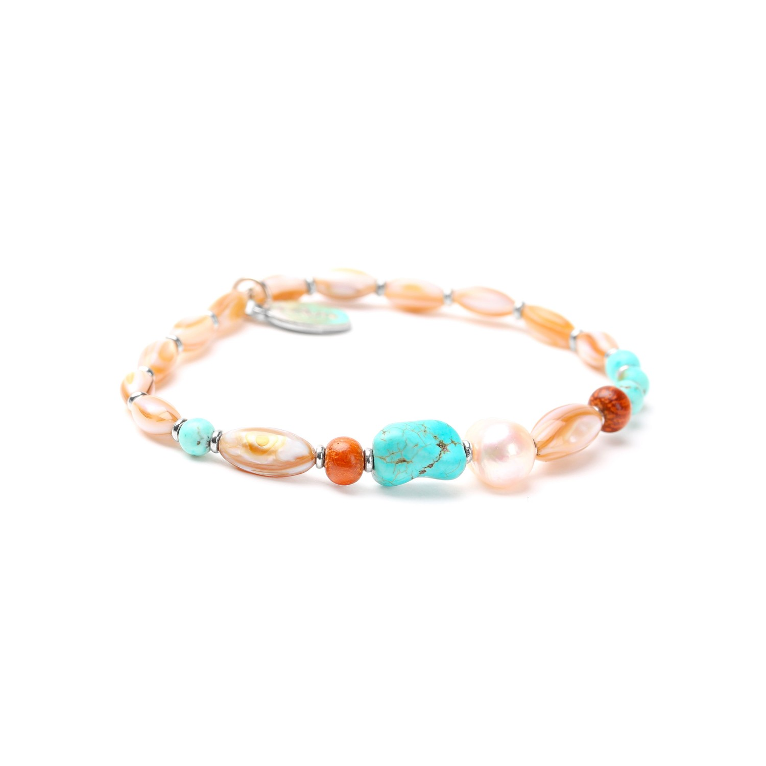 MANGAREVA thin stretch bracelet