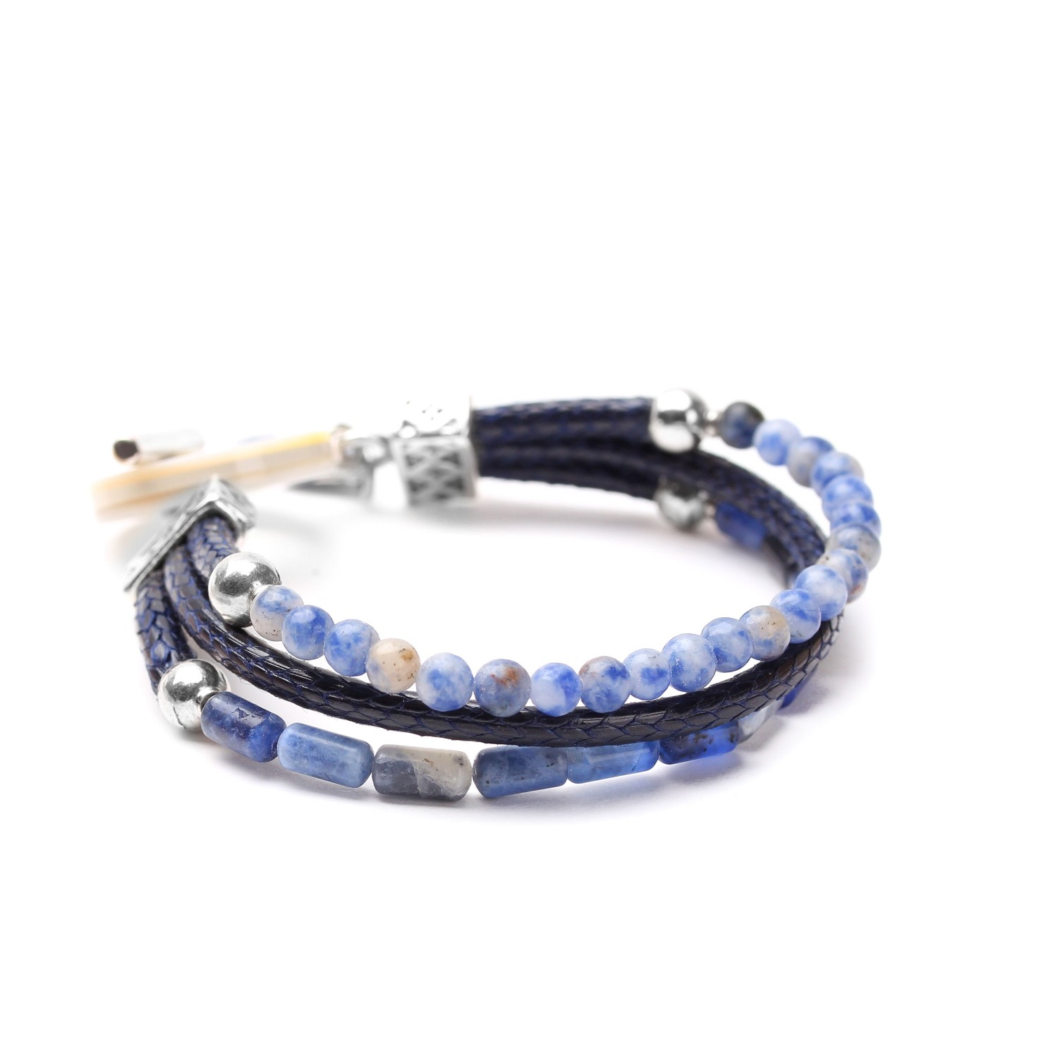 CYCLADES 3-row bracelet