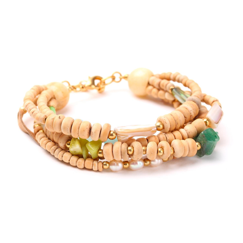 DANUBE 5-row bracelet