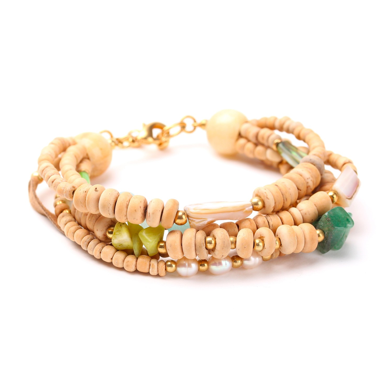 DANUBE bracelet 5 rangs
