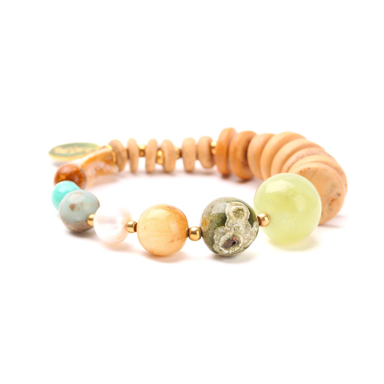 DANUBE bracelet dégradé de perles