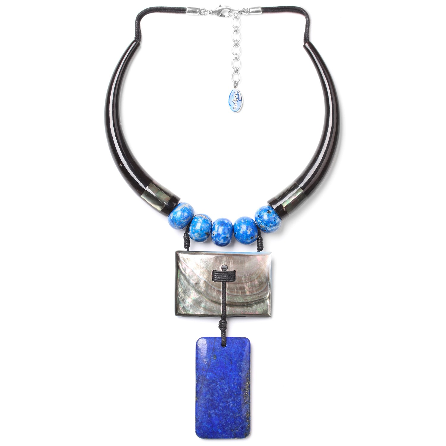 DEEP BLUE The necklace