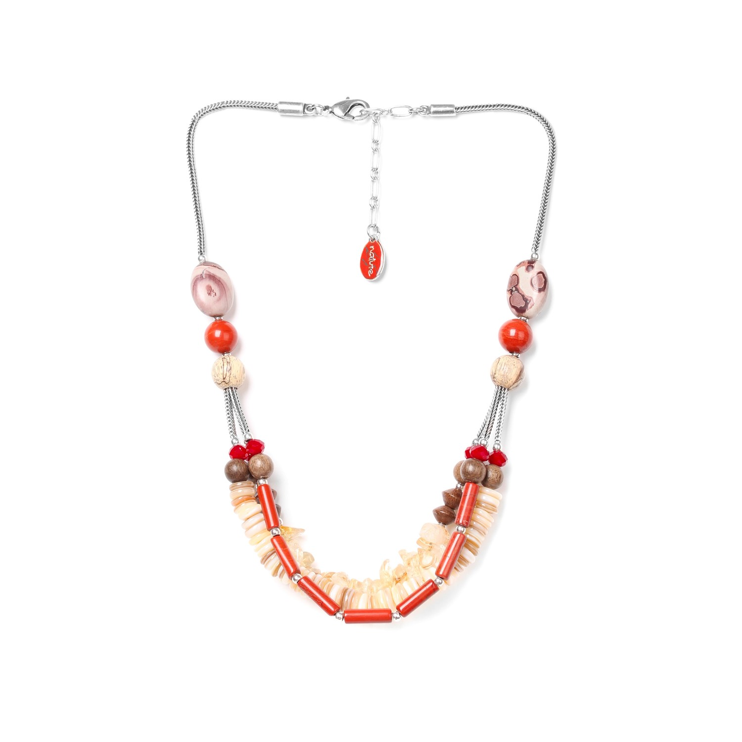DESERTIGO 3-row necklace