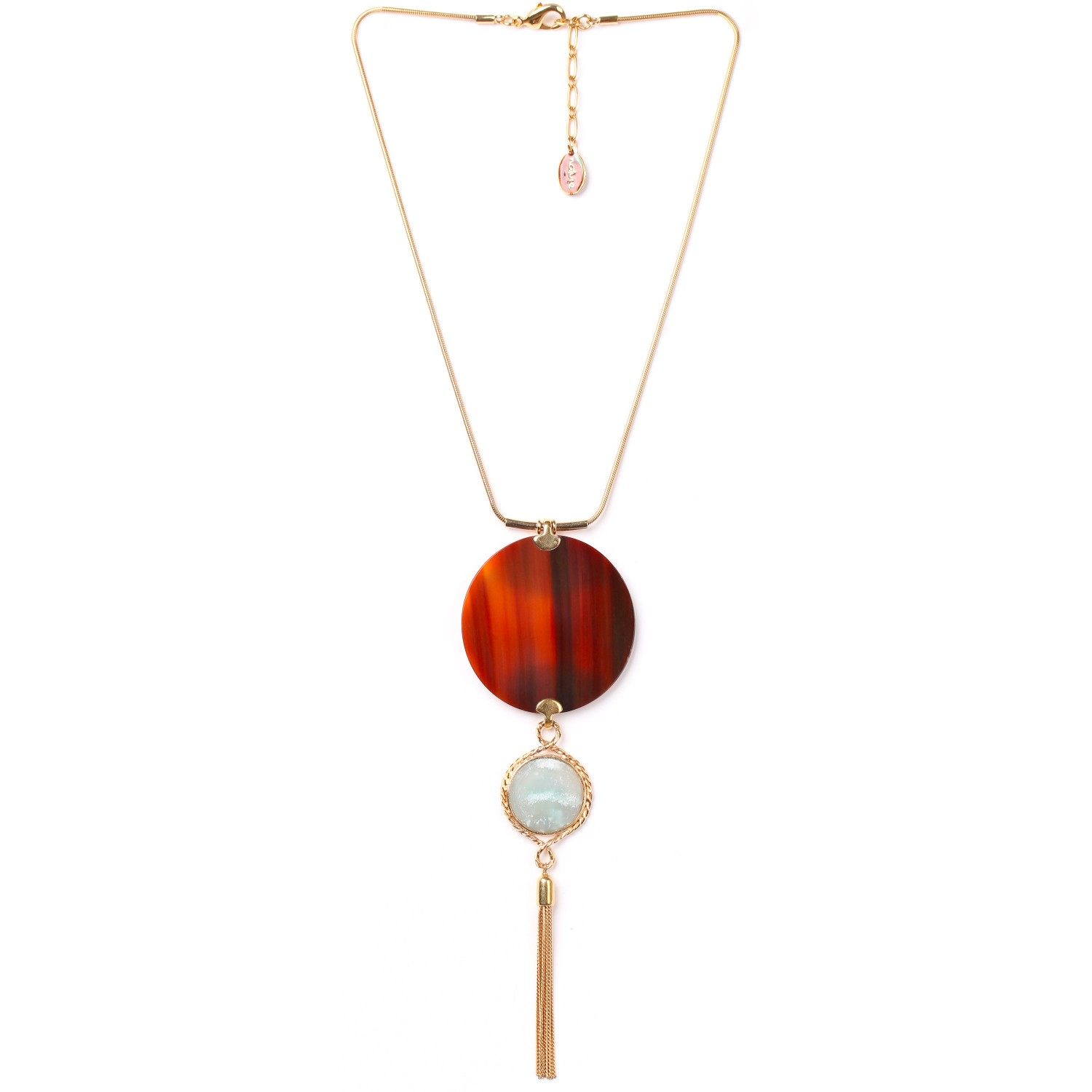 LA SCALA tassel necklace