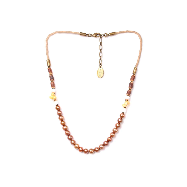 WILDERNESS collier perles