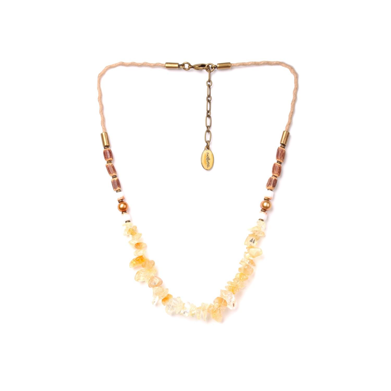 WILDERNESS citrin necklace