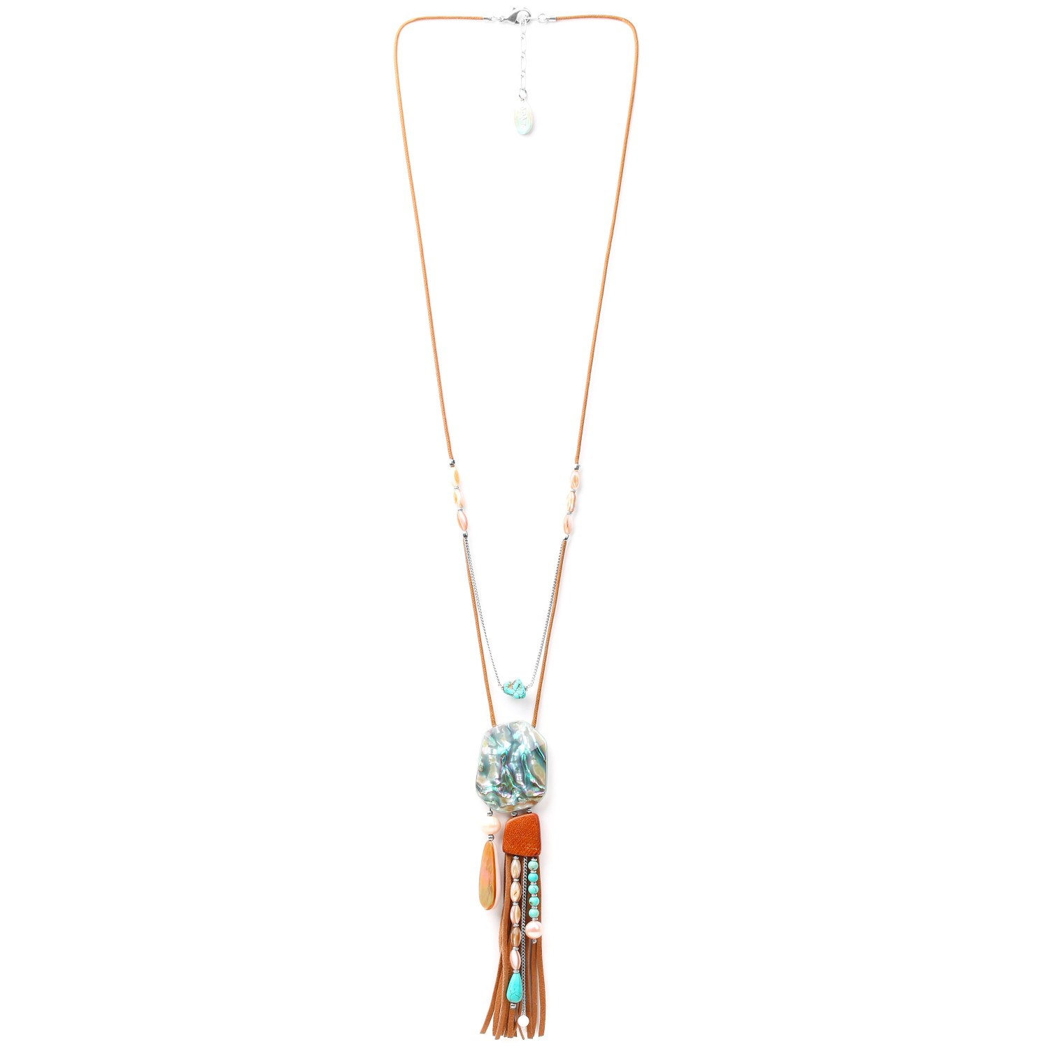 MANGAREVA long necklace