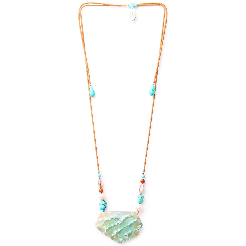 MANGAREVA long adjustable necklace