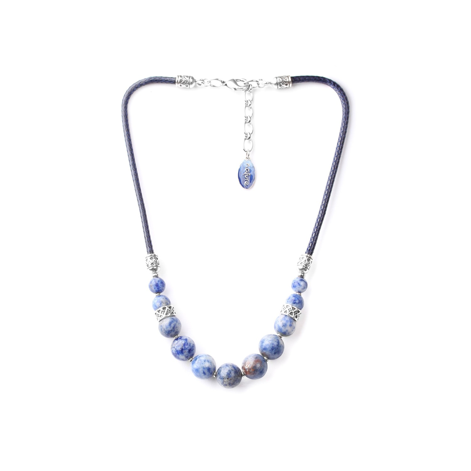 CYCLADES graduated beads necklace
