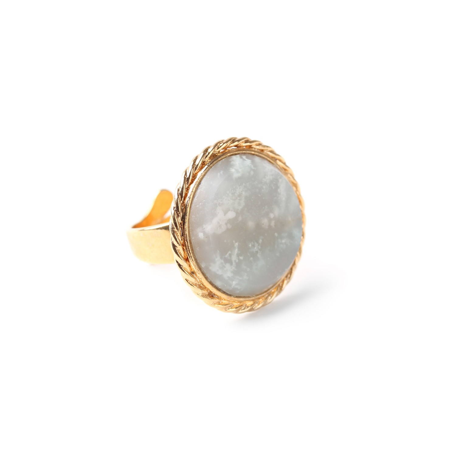 LA SCALA bague amazonite