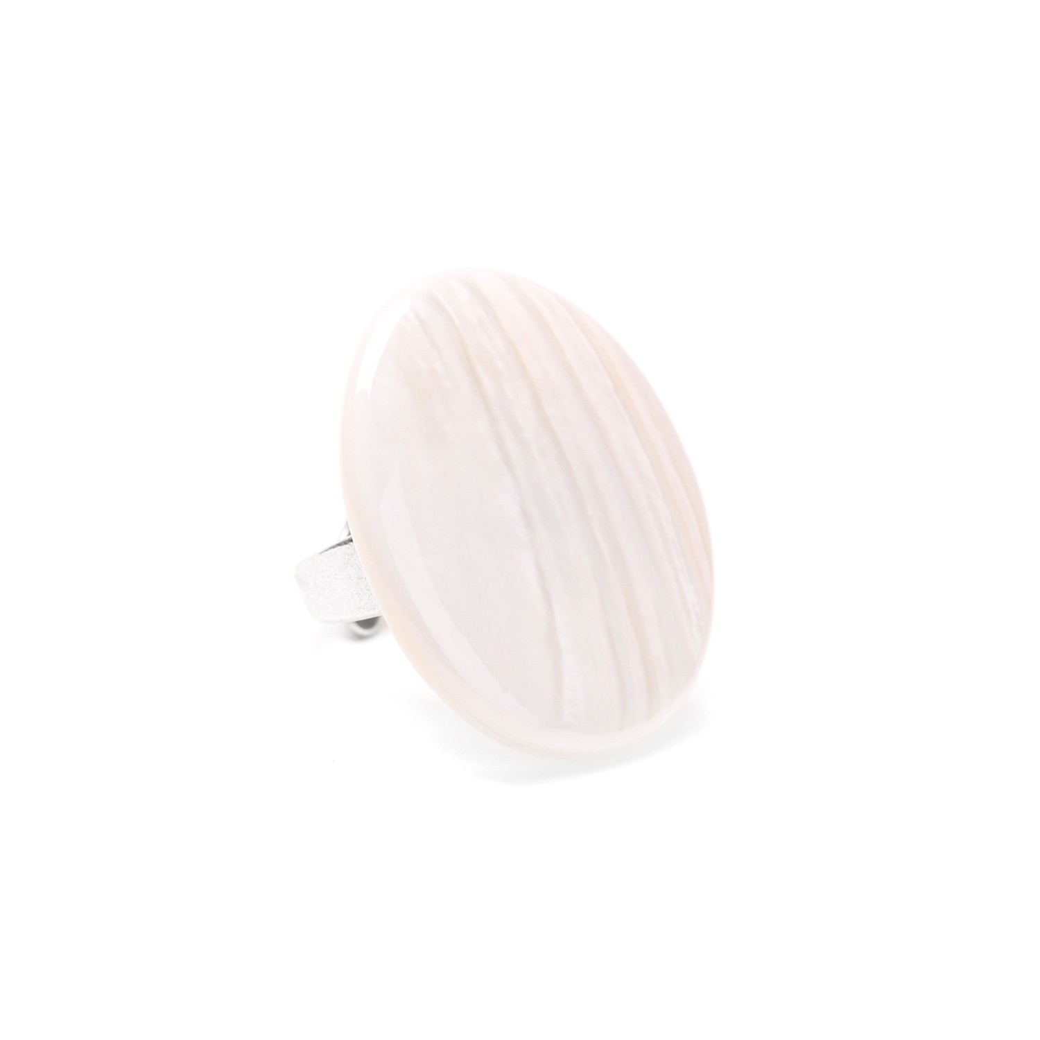 SAINT MALO pink shell ring
