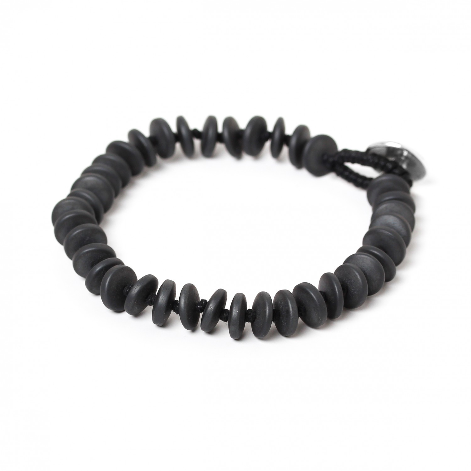HEMATITE large wheels bracelet