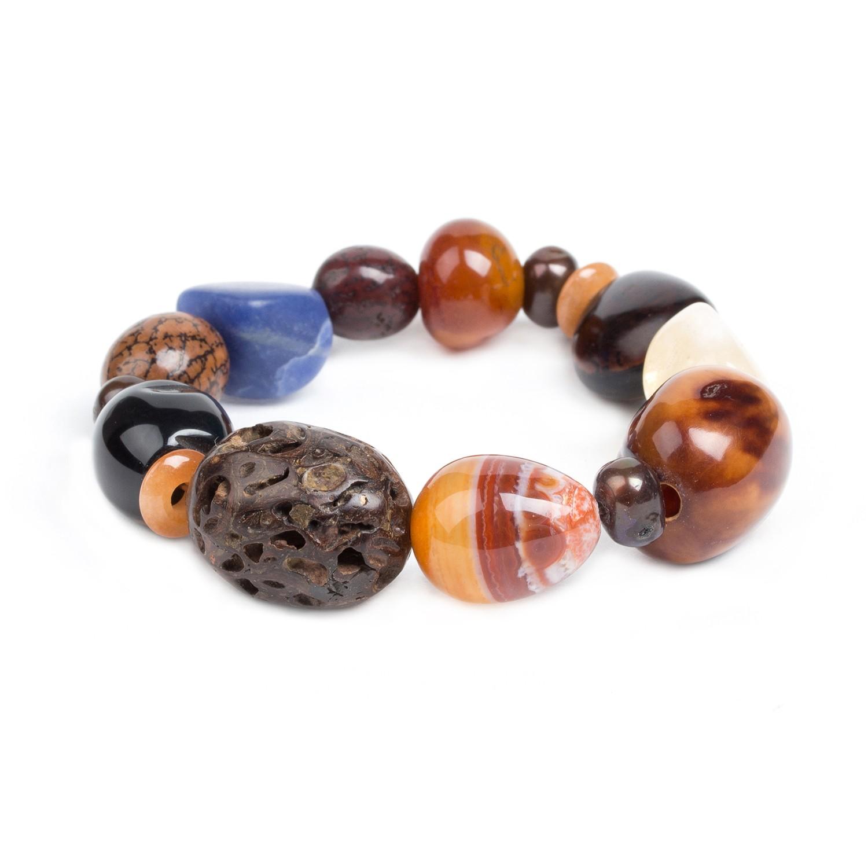 MALAWI gros bracelet extensible