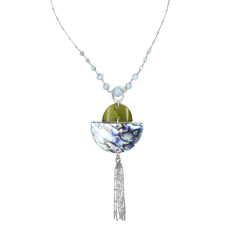 OKARITO collier perle centrale