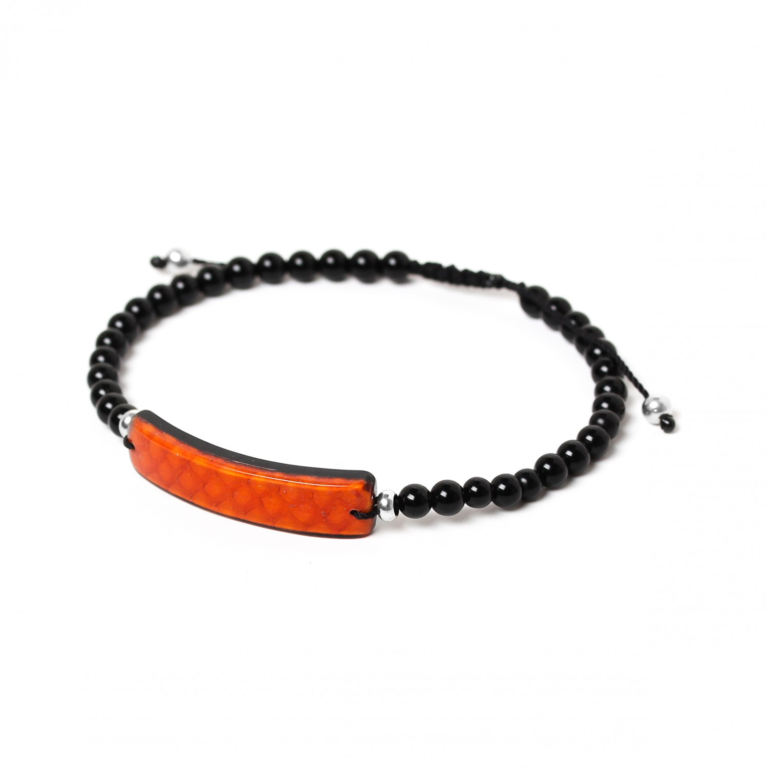 SERPENT orange bracelet