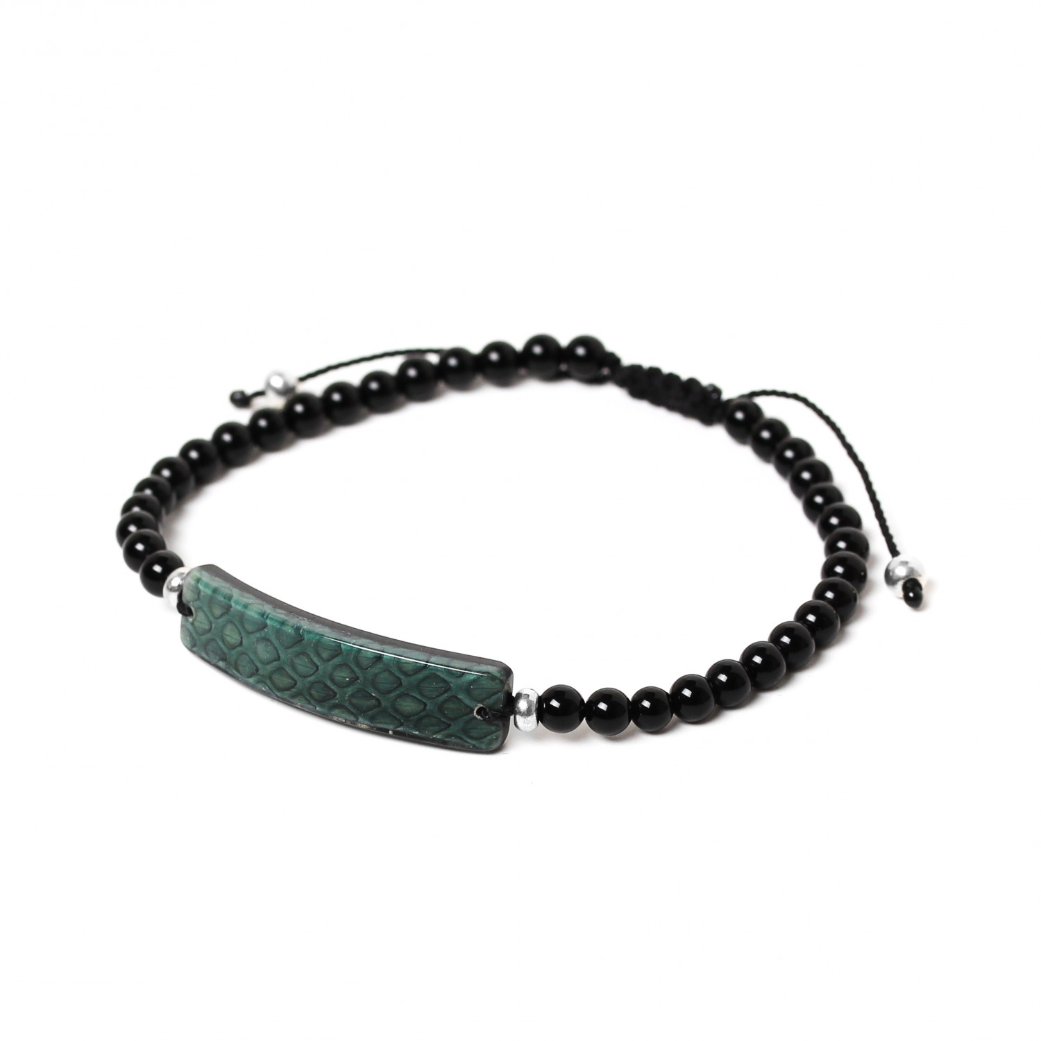 SERPENT green bracelet