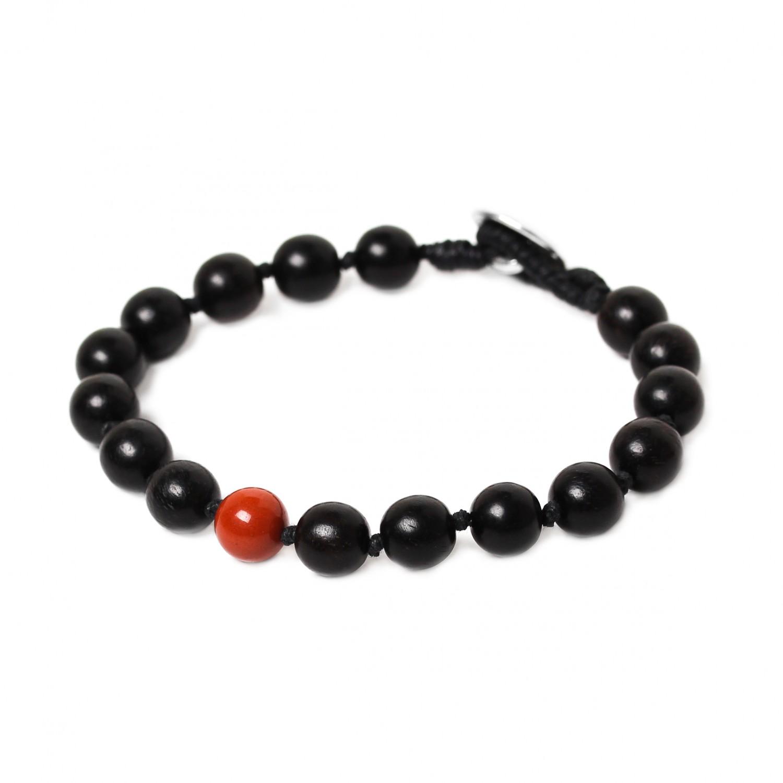 BOUTON red jasper bracelet
