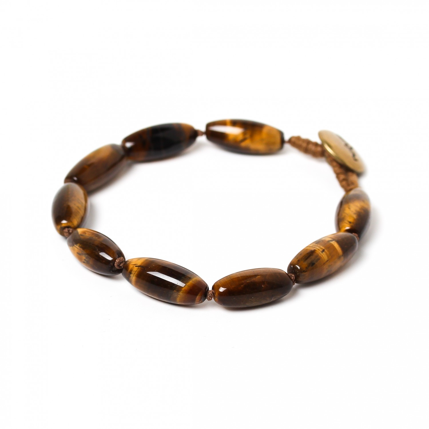 TIGER EYE bracelet olives