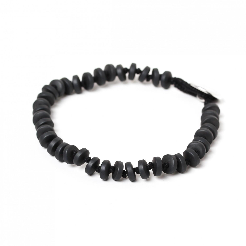 HEMATITE small wheels bracelet