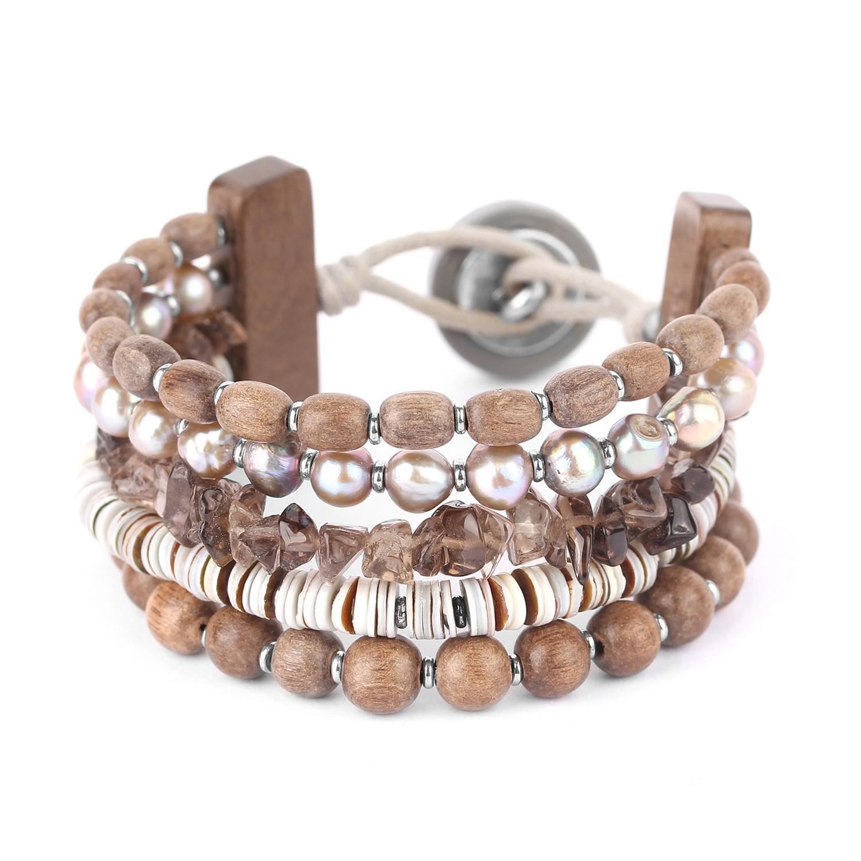 FIFTY SHADES  bracelet 5 rangs