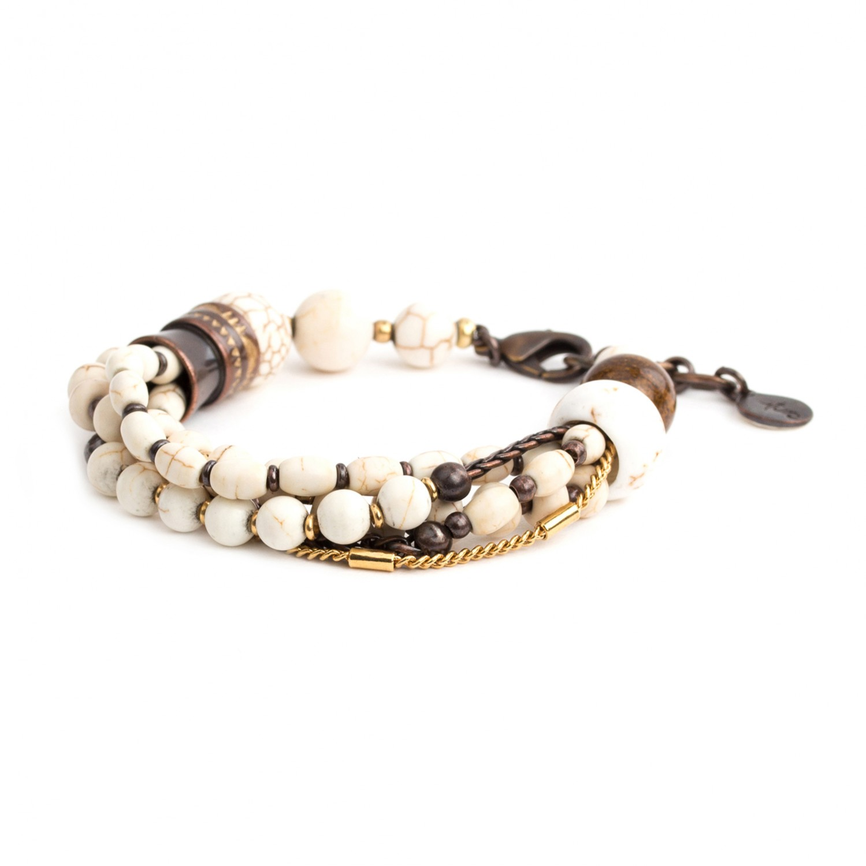 SAOURA bracelet 5 rangs