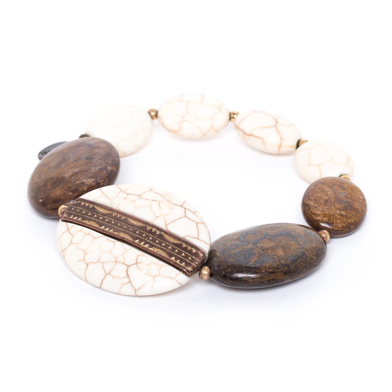 SAOURA bracelet extensible dégradé