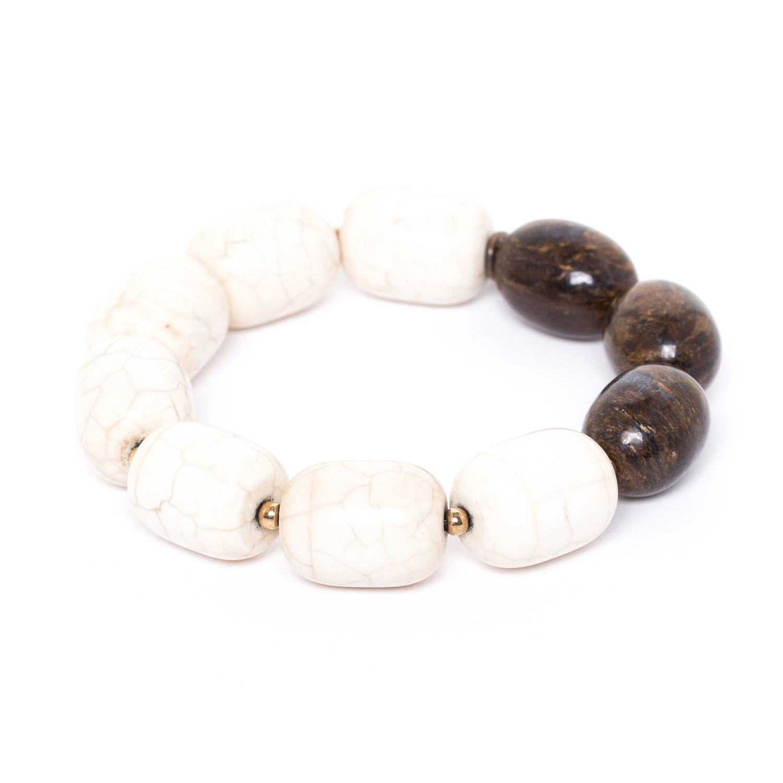 SAOURA gros bracelet extensible