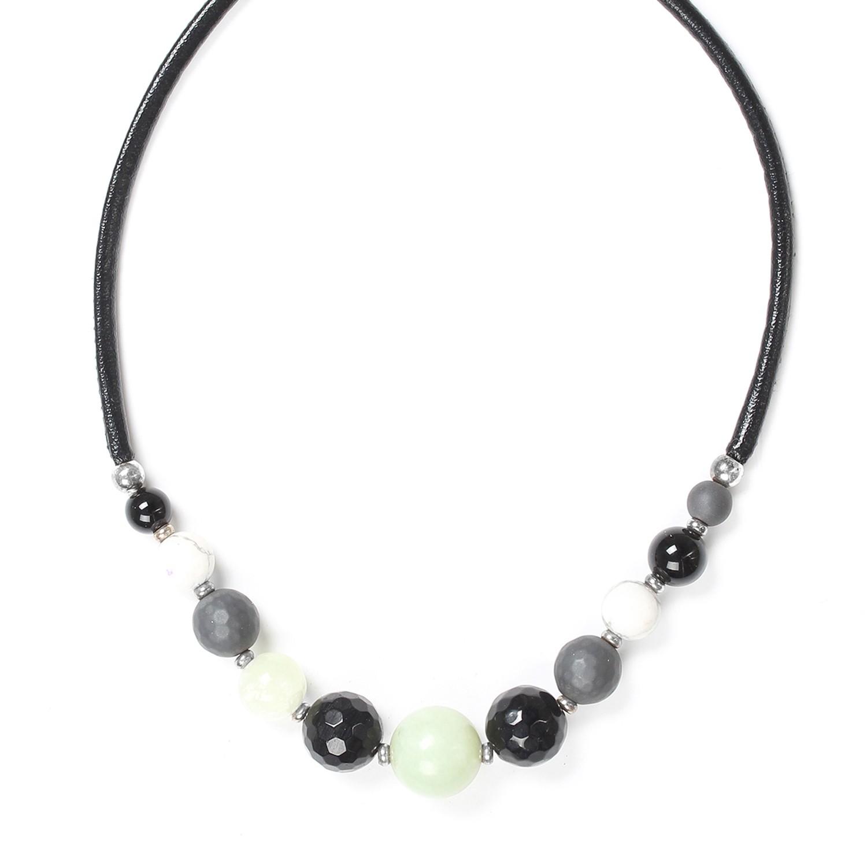 SUMATRA collier dégradé de perles