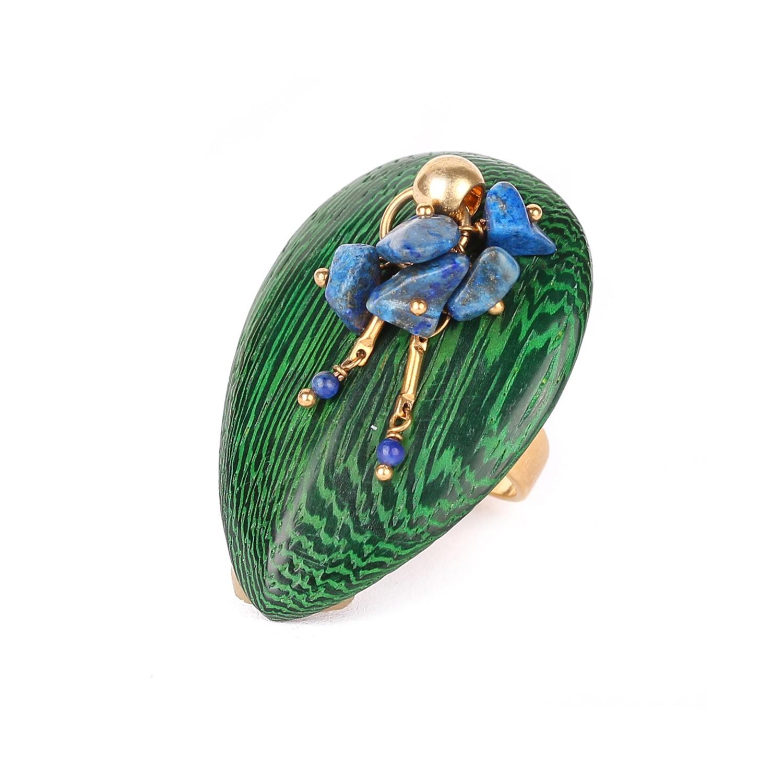 AGAPANTHE bague lapis-lazuli