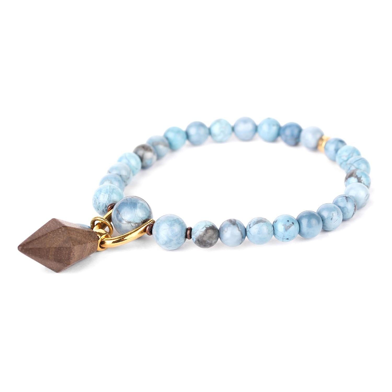 WOOD DIAMONDS greywood bracelet