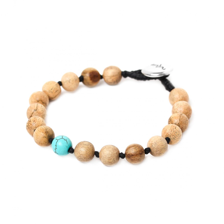BOUTON turquoise bracelet