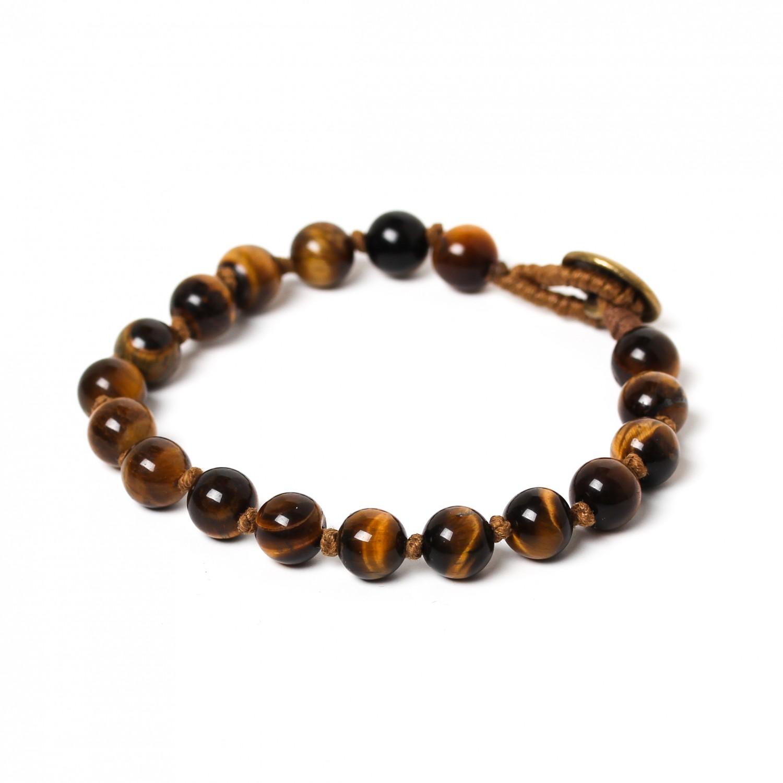 TIGER EYE bracelet perles 8mm