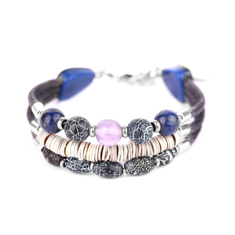 BAIKAL 3-row bracelet