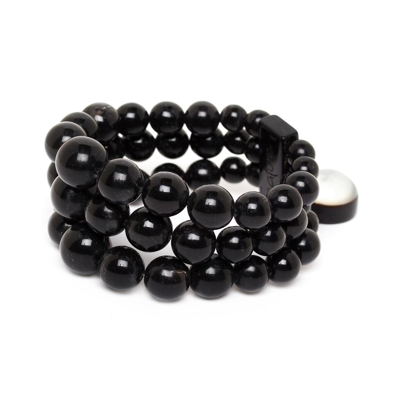 MIDNIGHT 3 row bracelet