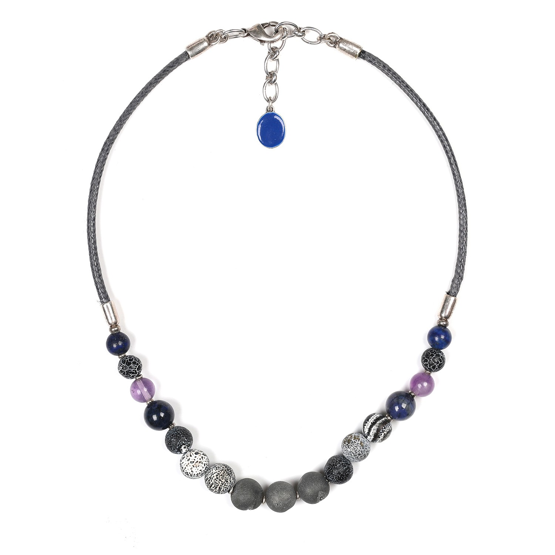 BAIKAL assorted beads necklace