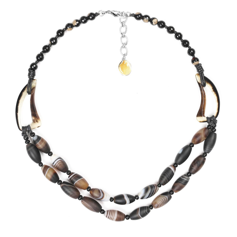 AMA DABLAM 2-row necklace
