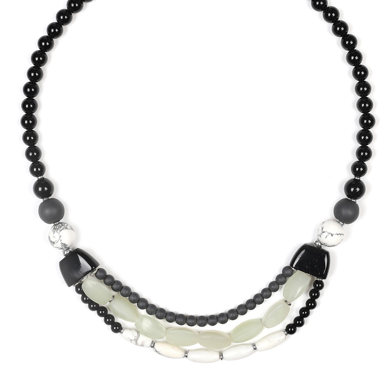 SUMATRA 3-row necklace