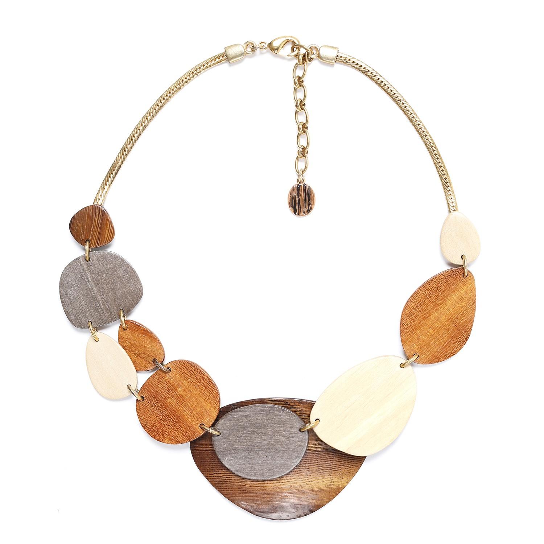CHAMBORD 2 & 1 row necklace