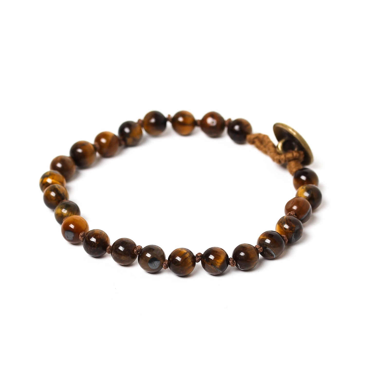 TIGER EYE bracelet perles 6mm