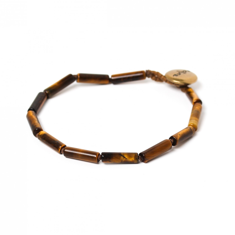 TIGER EYE bracelets tubes