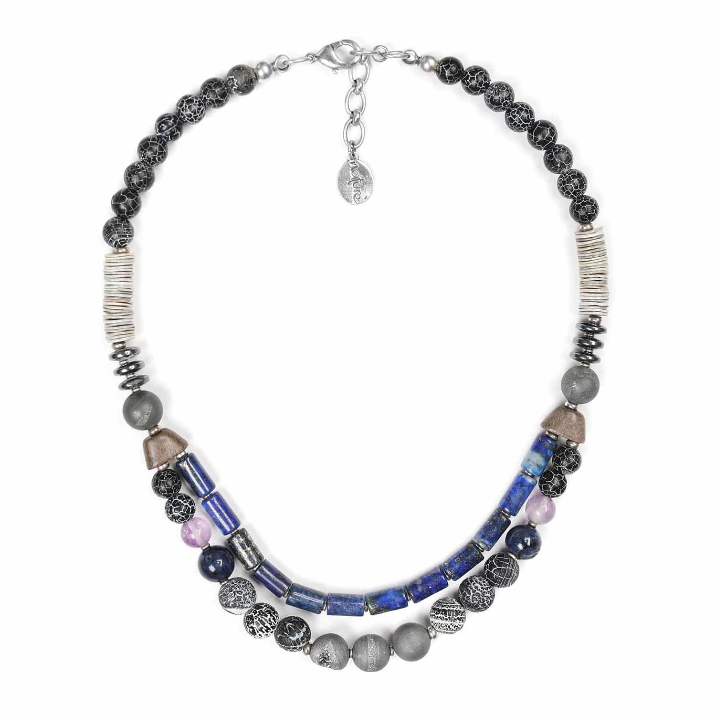 BAIKAL 2-row necklace