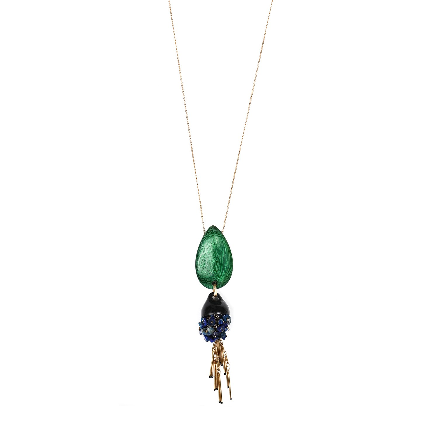 AGAPANTHE collier long