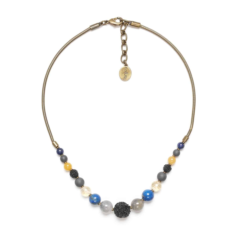 BLUE TRIBE collier dégradé