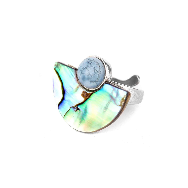 OKARITO half moon ring