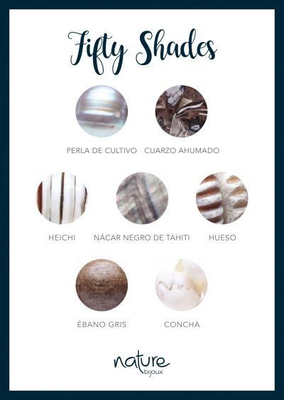 Materiales naturales Fifty Shades Nature Bijoux