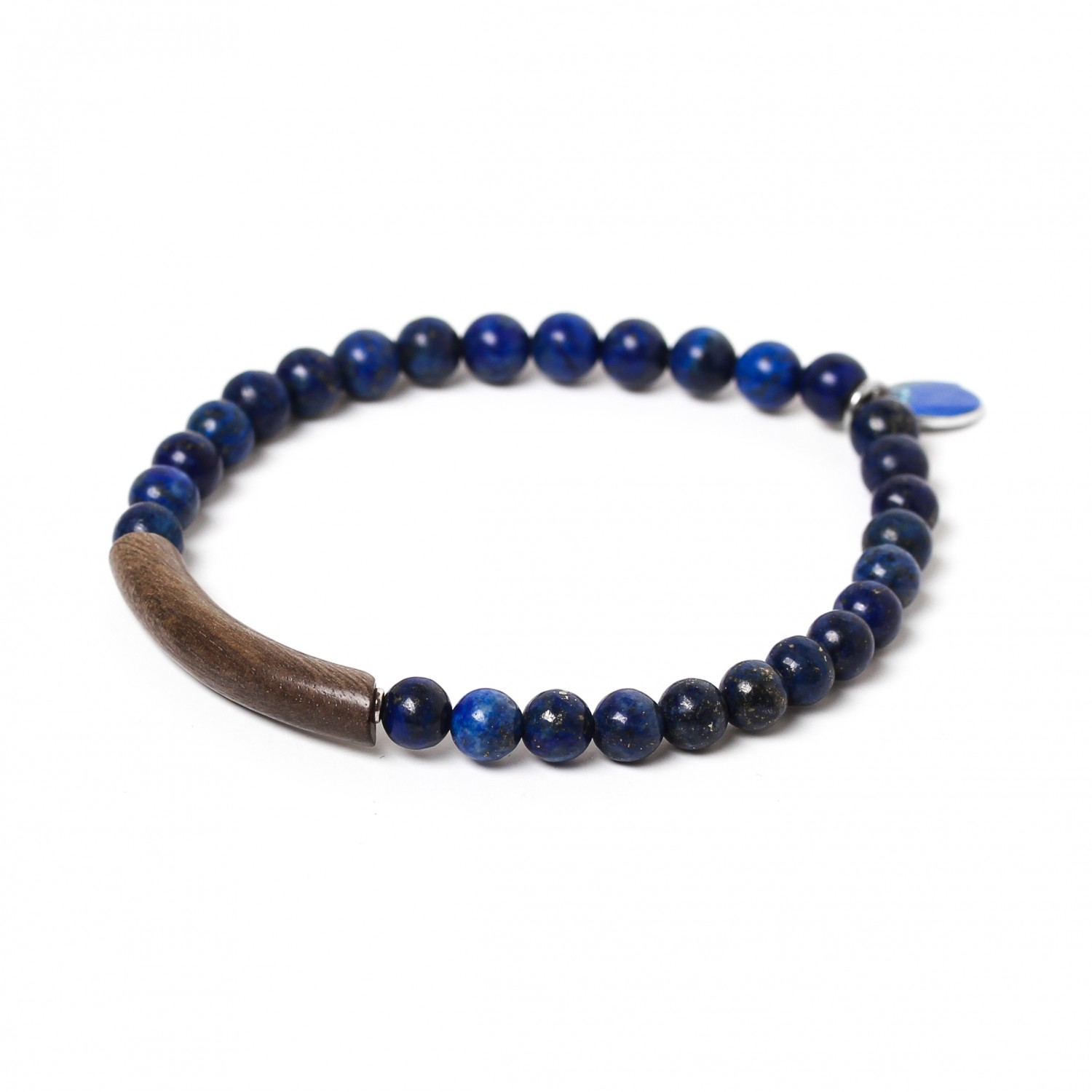 TUBE lapis  stretch men bracelet