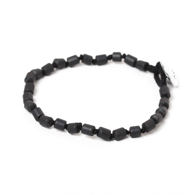 HEMATITE bracelet homme tubes