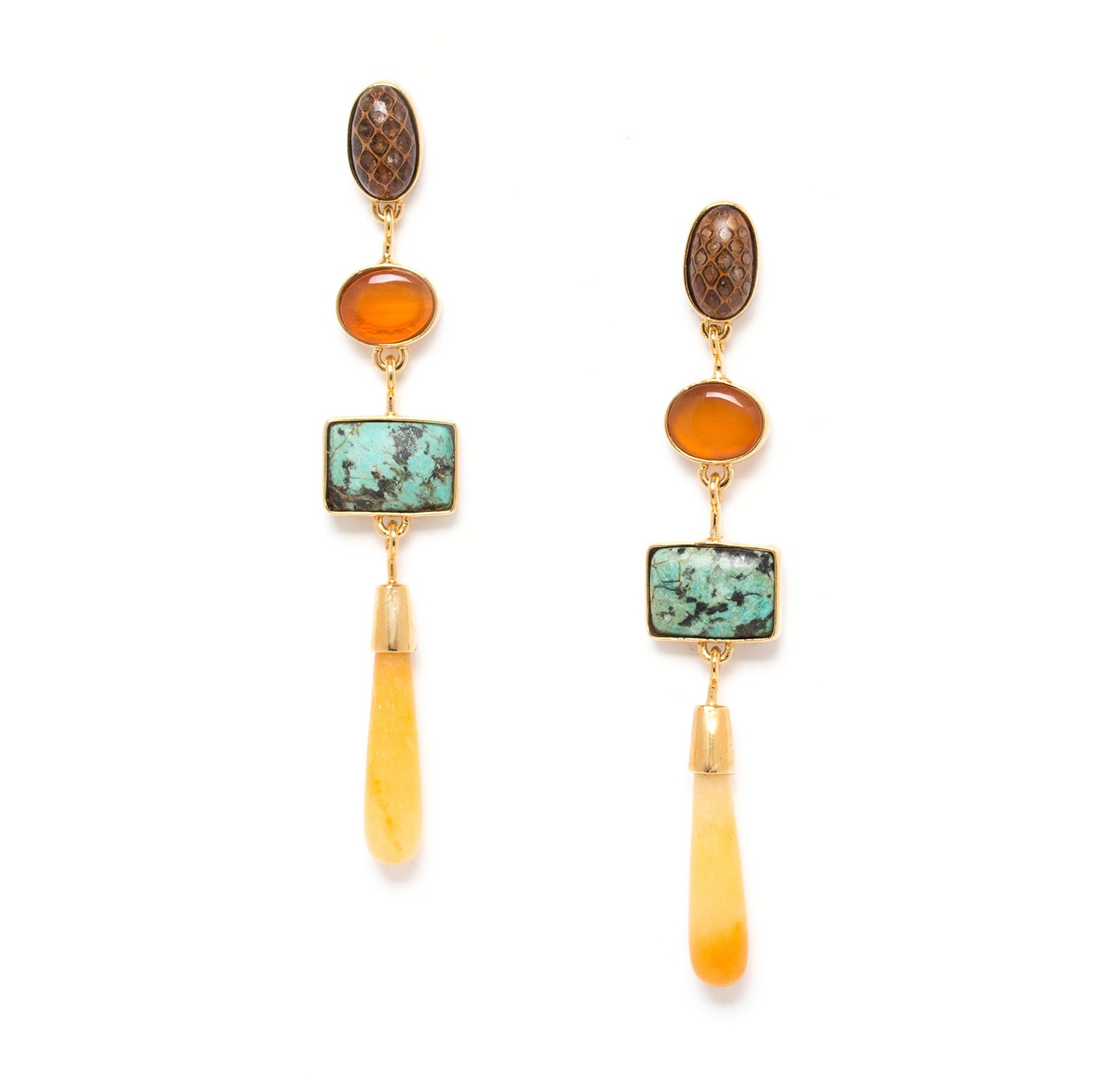 TRESORS aragonite drop ER